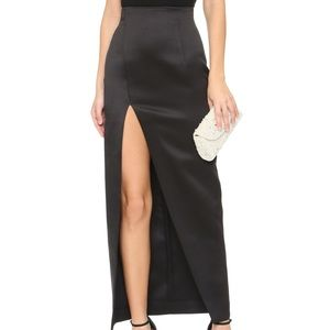 Solace London Open Slit Skirt